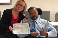 Ability Champion Recognized at Annual